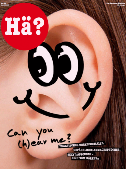 Can you (h)ear me ?