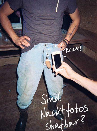 Sind Nackt-fotos strafbar?