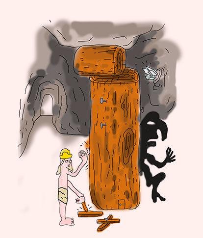 Auf Holz klopfen