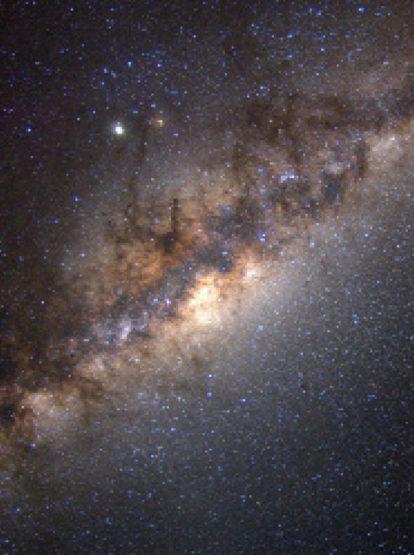 Wieso sieht man Sterne besser, wenn man daran vorbeischaut?