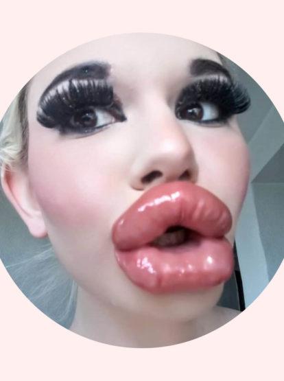Dicke Lippe riskiert